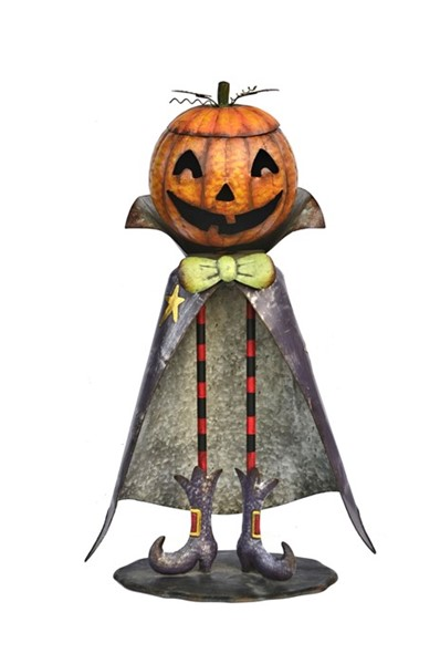 "Big Head Pumpkin Figurine ""Jack"""