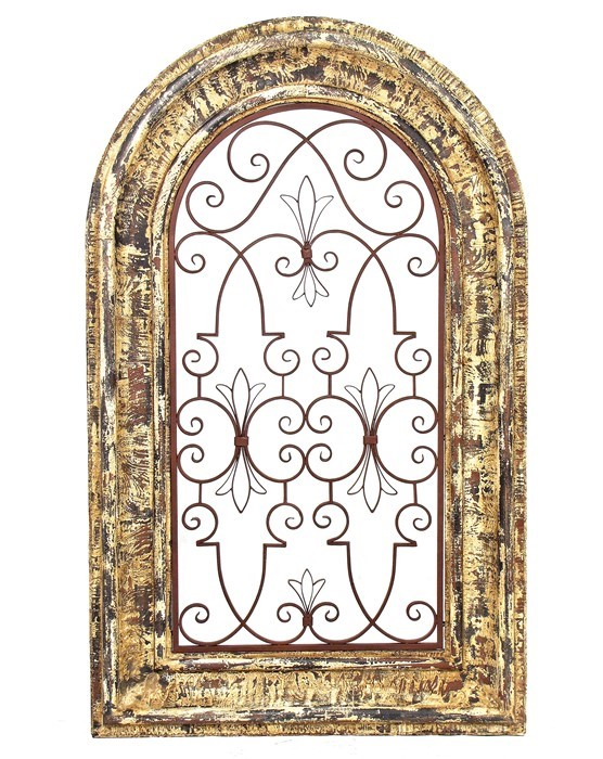 metal turtle wall decor.htm arched window wooden wall frame with iron decor in barcelona red  arched window wooden wall frame with