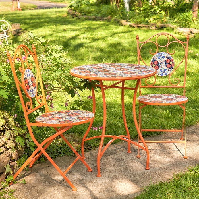 """Saint Petersburg"" Mosaic Bistro Set"