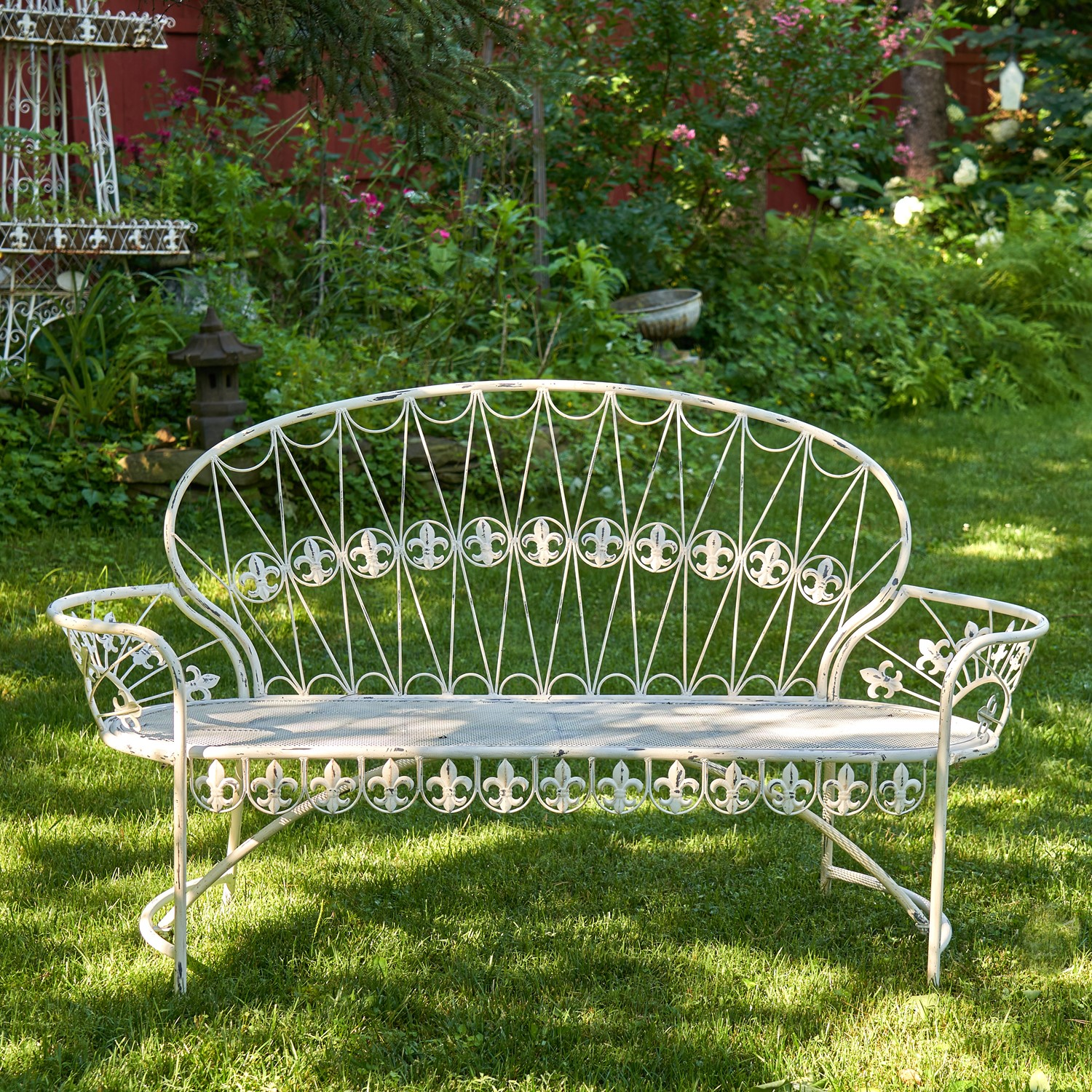 "Garden Bench ""Paris 1968"""