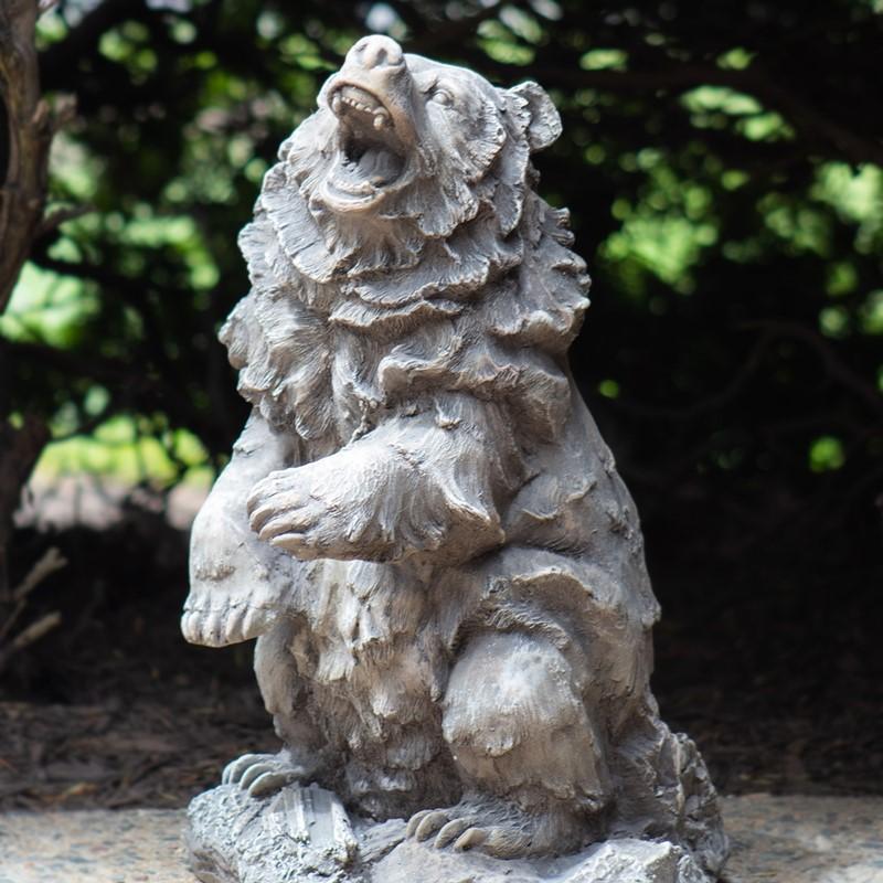 Bear Garden Statue. View Larger