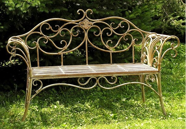 "Garden Bench ""Paris-1968"""