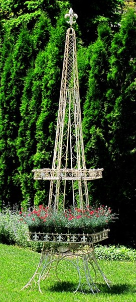 Large Eiffel Tower Plant Stand