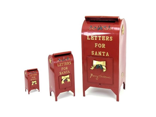 Set of 3 Christmas Mailboxes
