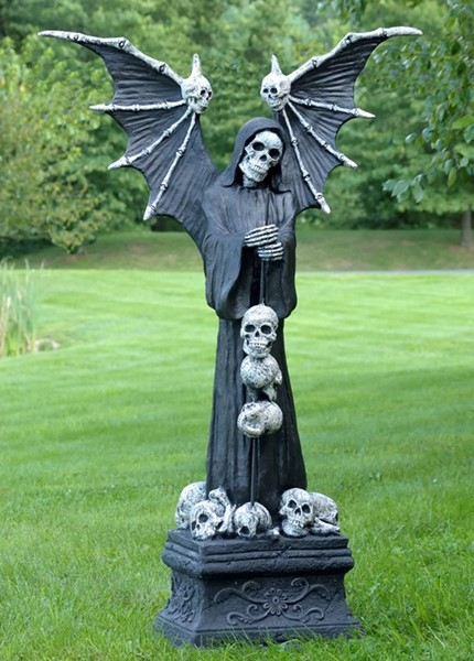 MAGNESIUM HALLOWEEN FIGURINE ANGEL OF DEATH