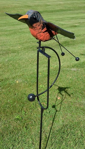 Iron Robin Swing Stake