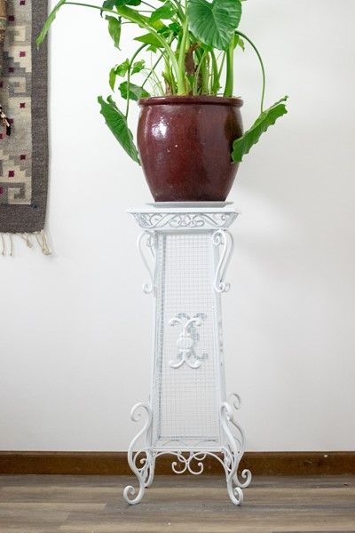 Metal Plant Stand Table