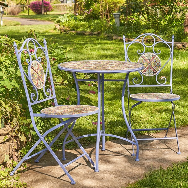 """New Orleans"" Mosaic Bistro Set"