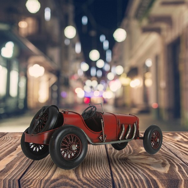 Decorative Auto Union Race Car in Red