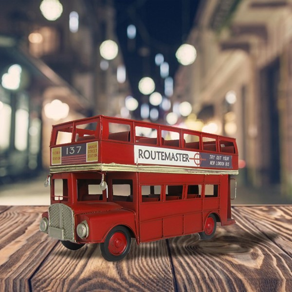Red London Bus Model