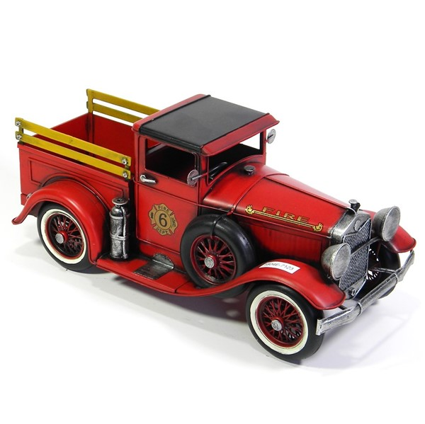 "12.6"" Antique Style Model American Fire Truck"